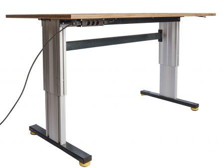 Arbeitstisch elektrisch höhenverstellbar mit Industriefüßen