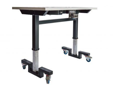 Höhenverstellbarer Labor / Arbeitstisch Sicherheit