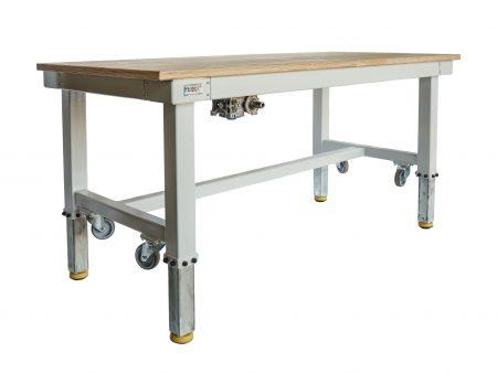 Mechanisch höhenverstellbarer Arbeitstisch für Industrie und Handwerk