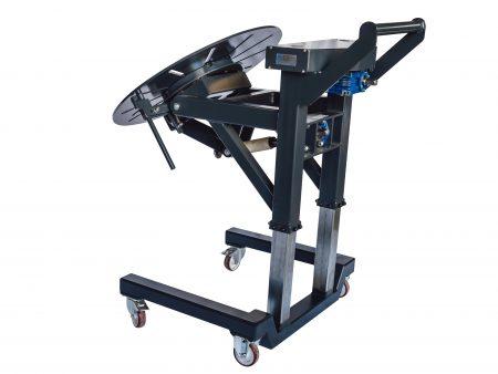 Werkstatttisch mit Drehplatte höhenverstellbar und fahrbar