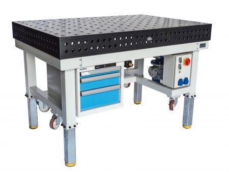 PETec Schweißtisch höhenverstellbar und fahrbar für die Werkstatt